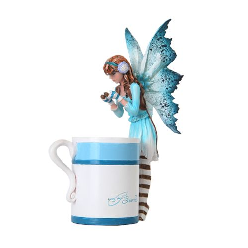 Hot Cocoa Faery - $24.99 - This little pixie figurine is sure to bring warm feelings to the colder months of the year!