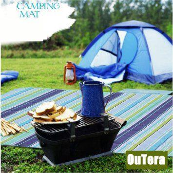 Outera - Impermeable Manta de Picnic Camping Playa Forma de bolsa(Plegable, Protable) 180Cm (L) X 145Cm (W): Amazon.es: Jardín
