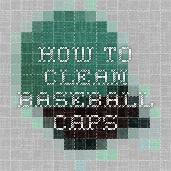 how to wash baseball hats in the washing machine