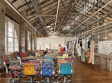 The world's most incredible offices - CNN.com The derelict warehouses that comprise Urban Outfitters corporate campus dovetail nicely with the brand's kooky fashion sense. Indoor walkways are lined with ponds and flowers to offset the industrial feel, and brightly-patterned chairs pop amid the gritty surroundings.