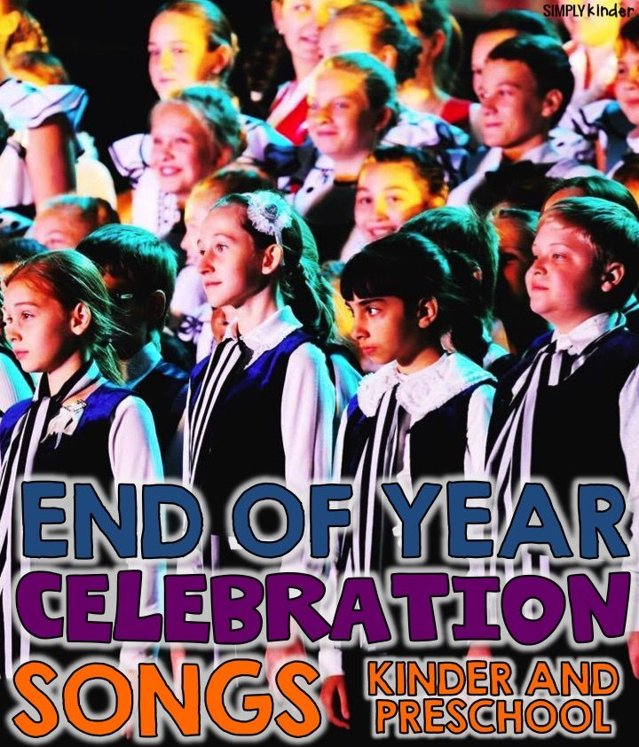 A collection of great End of the Year Songs perfect for graduations, end of the year programs or classroom celebrations for all grade levels.