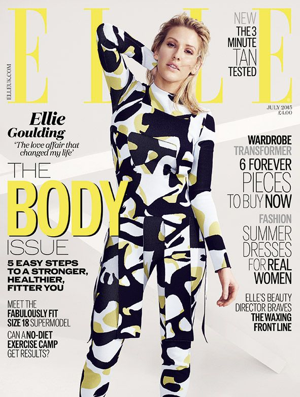 ELLE UK July 2015