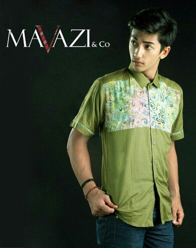 Mavazi summer menswear - contemporer paintbrush Batik for casual