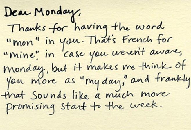 Make friends with #Monday  #MondayMotivation