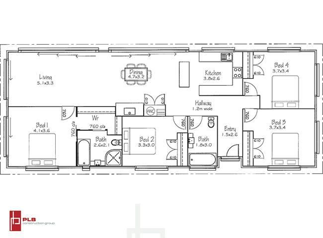 Modern Transportable House PLB134
