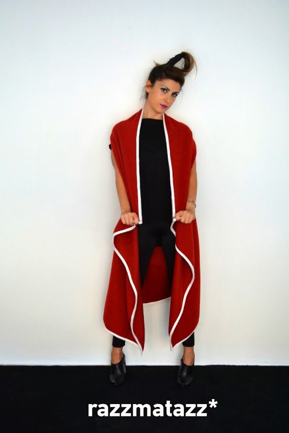 Wool jacket vest by Razzmatazz*   Buy online now at: http://www.razzmatazzshop.com/collections/outer-shells/products/401107