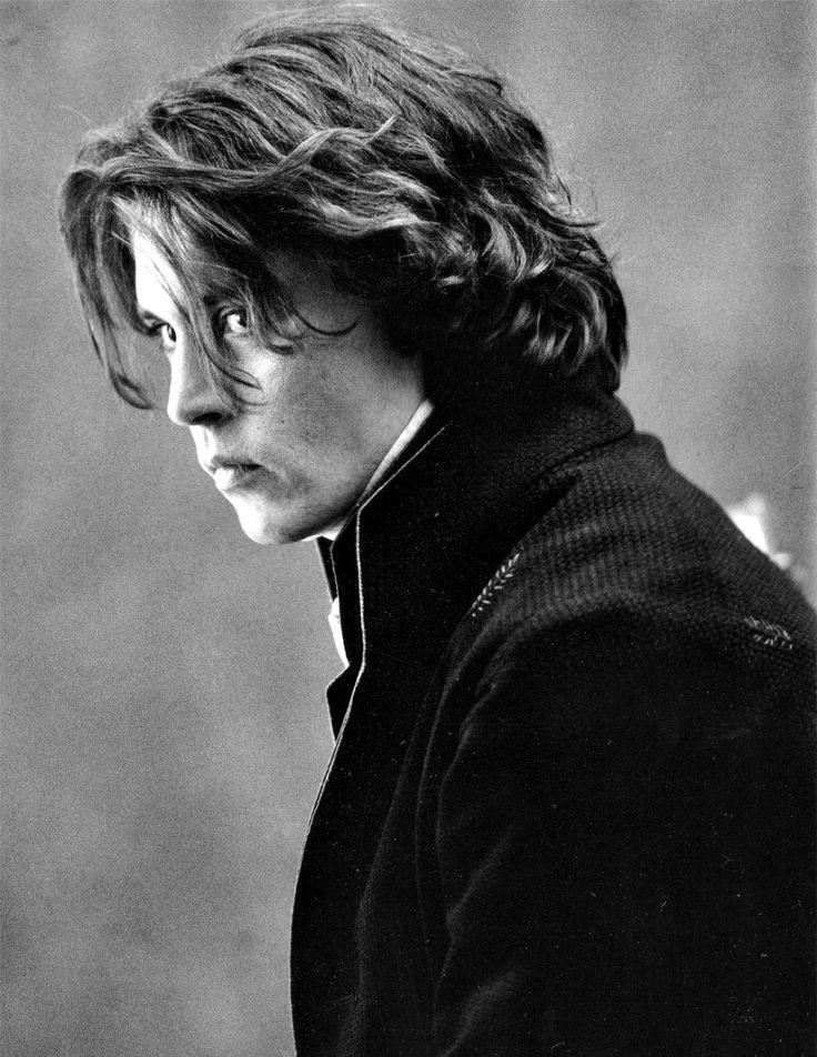 Johnny Depp as Ichabod Crane In Sleepy Hollow