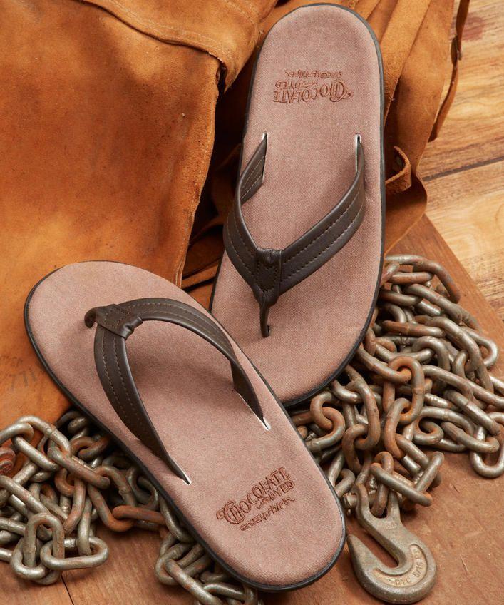 Aukai - Chocolate-Dyed Men's Sandals