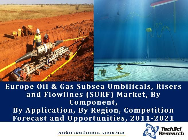 Europe Oil & Gas Subsea Umbilicals, Risers and Flowlines (SURF) Market By Component (Shallow Water, Deepwater, Ultra-Deepwater), By Application (Deepwater, Shallow Water, etc.), Competition Forecast and Opportunities, 2011-2021
