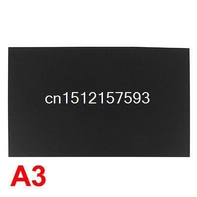 3mm Black Plastic Acrylic Plexiglass Perspex Sheet A3 Size 297mm x 420mm #Affiliate