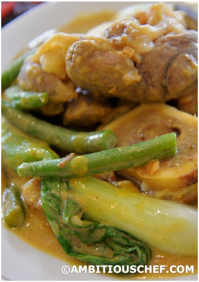 Authentic Filipino Kare Kare Recipe