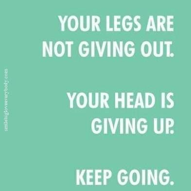 Inspirational and motivational cycling memes.