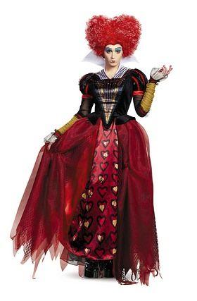 Red Queen Deluxe Adult Costume