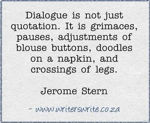 Keep it Simple: Keys to Realistic Dialogue (Part I)