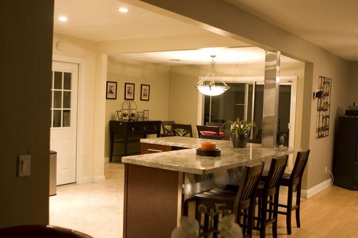 17 best slate floor room designs images on pinterest for Raised ranch kitchen designs