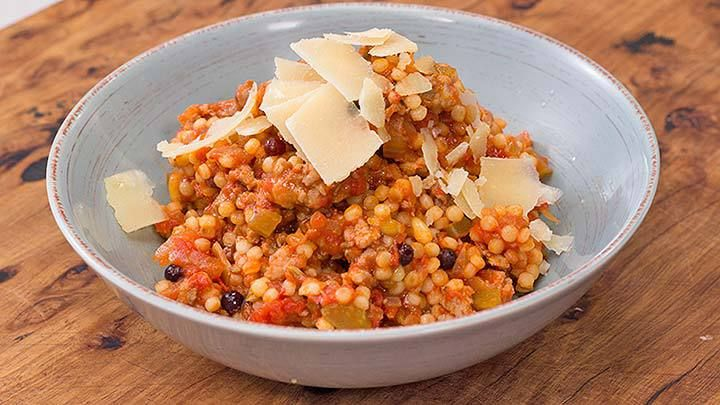 how to cook gourmet pearl couscous