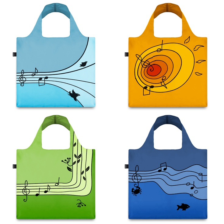 Shopping bag design contest. Sounds of Nature