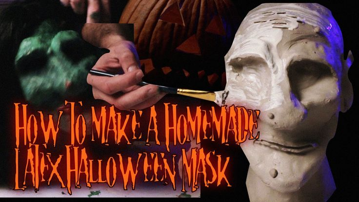 "How Bizarre ""How to Make A Homemade Latex Halloween Mask"" ( A Horror Show)"