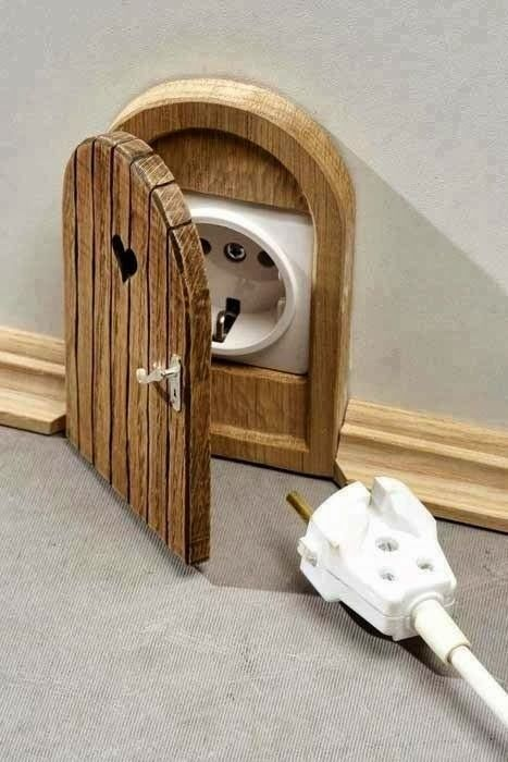 Creative electric socket cover