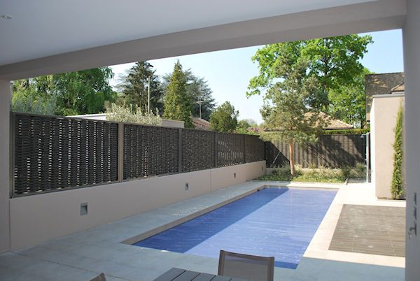 Swimming Pool Privacy Screen