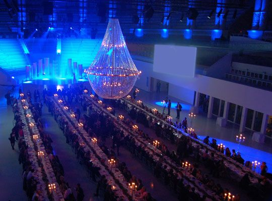 Premios Boton de Oro-Mango Fashion Awards. www.showlight.es lamparas decorativas para eventos