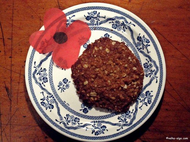 Овсяное печенье Анзак