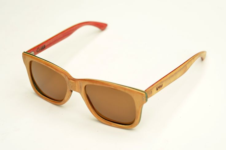 Hand made sunglasses, recycled from a Foundation skateboard.  by U-FIT/ARGENTINA