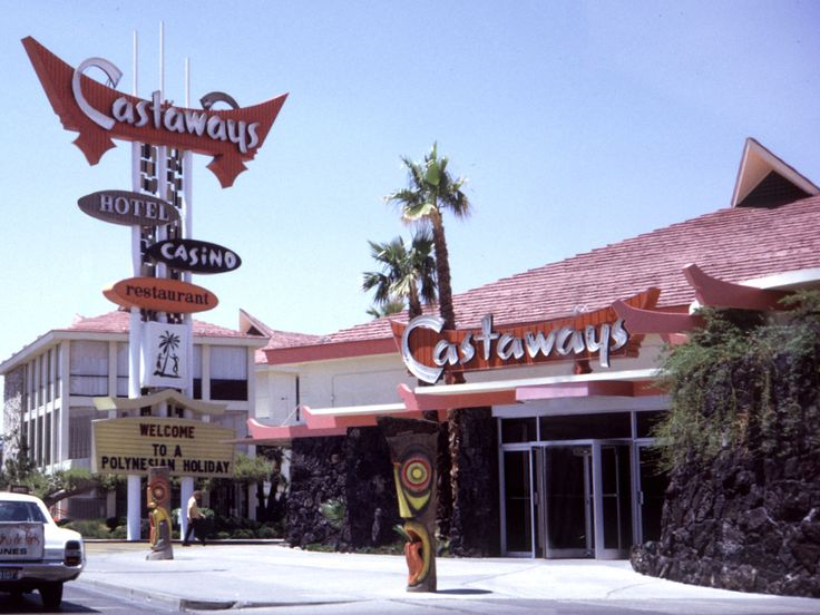 The Castaways in Las Vegas, photographed by Chris Kennedy (June 1970)