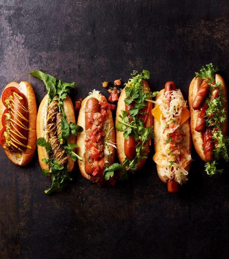 Hot Dogsはもちろん、サラミなどのソーセージ類が豊富なのもアメリカのプロセスミートならでは。