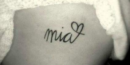 16 Ideen Tattoo für Frauen Kinder