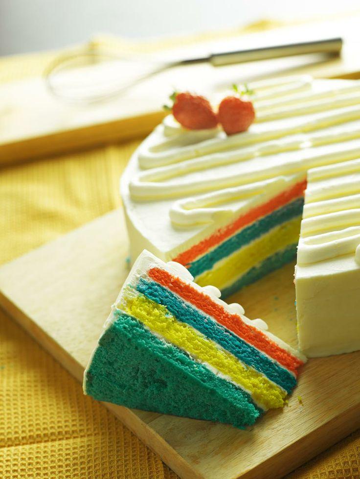 Rainbow Cake (Whole)