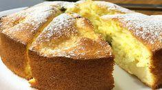 Простейший и вкуснейший бисквитный пирог