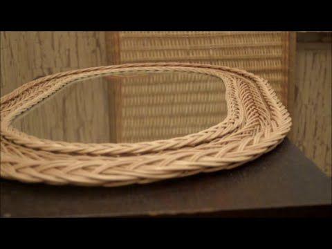 """Плетение из лозы-""""Отражение"""" Рамка для зеркала 3 -Wickerwork - YouTube"""