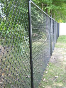 Black Coated Wire Mesh Fencing