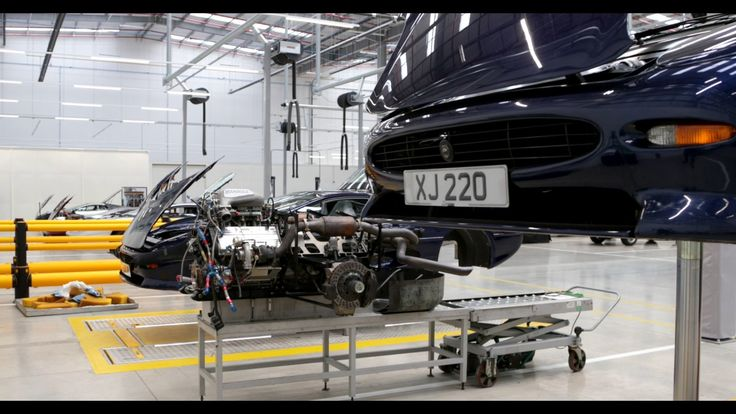 Jaguar Land Rover | New Classic Works Facility Open For Business