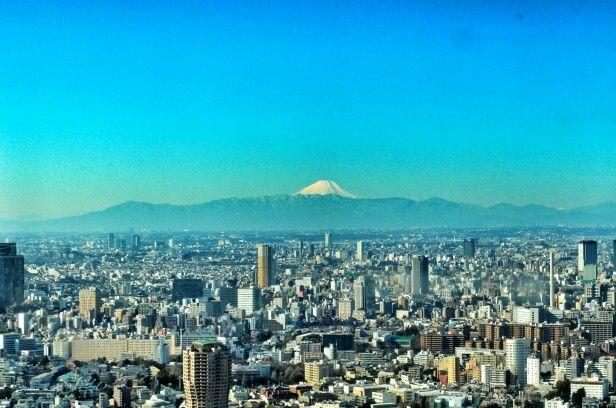 The Tokyo & Mount Fuji
