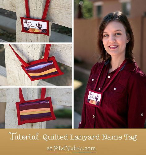 57 best Quilted Name Tags images on Pinterest | Stitching, Badges ... : quilting name tags - Adamdwight.com