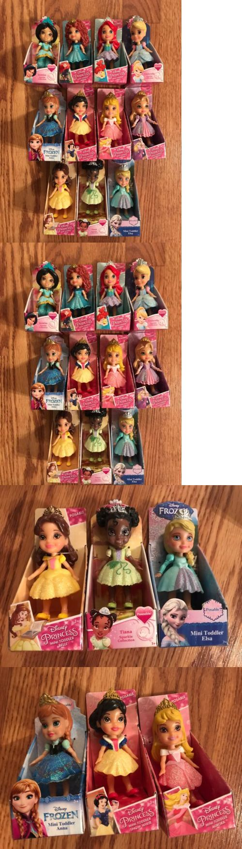 Disney Princesses 146030: Complete Set 11 Disney Princess Sparkle Mini Toddler Dolls Jasmine Merida Nib -> BUY IT NOW ONLY: $124.98 on eBay!