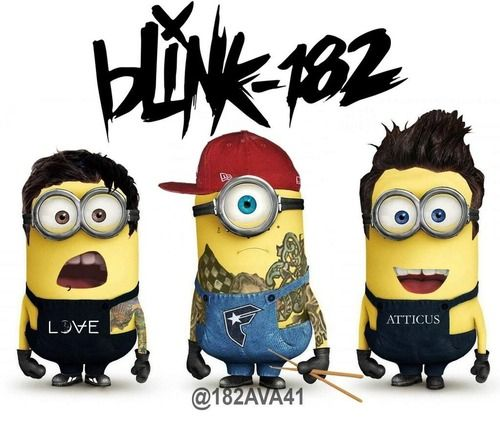 Minions are changing our favorite bands and singers to.........