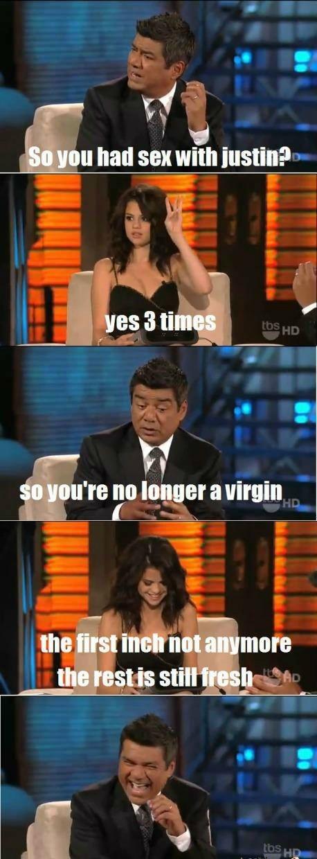 You are now my hero Selena.