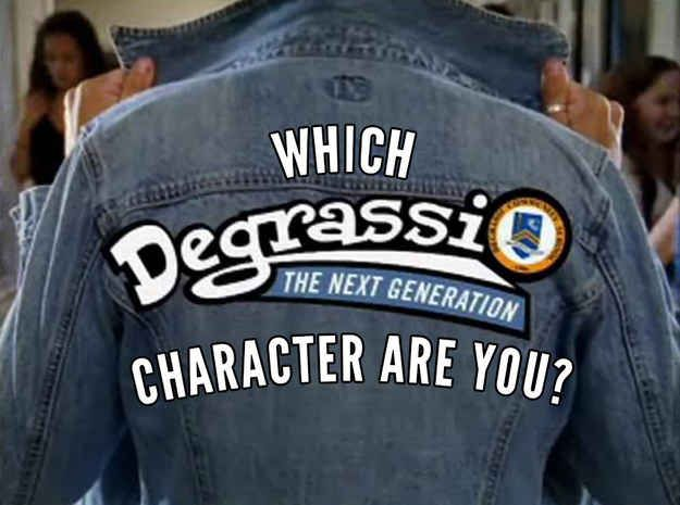 "Which Character From ""Degrassi: The Next Generation"" Are You"