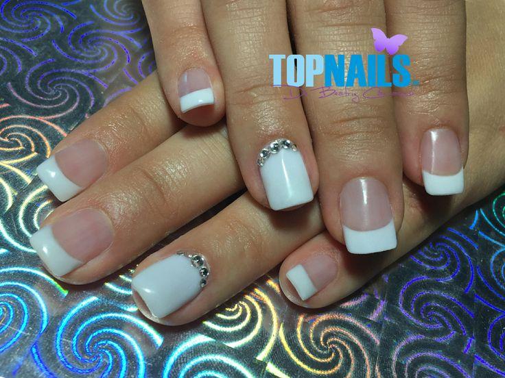 Uñas Acrílicas y cristal Swarovski (Acrylic nails Swarovski crystal)  Hazte Fans o Me Gusta    www.topnails.cl ☎ 94243426, saludos Beatriz