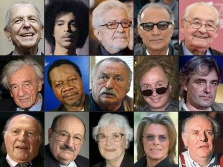 ***** Notable Deaths of 2016 — British singer David Bowie to Cuban leader Fidel Castro and American boxer Muhammad Ali, here are some of the notable figures who died in 2016. - January - - 5: PIERRE... 6 - .... 7- PAPA WEMBA. *****