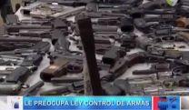 Procurador Dice Estar Preocupado Por Ley Control De Armas #Video