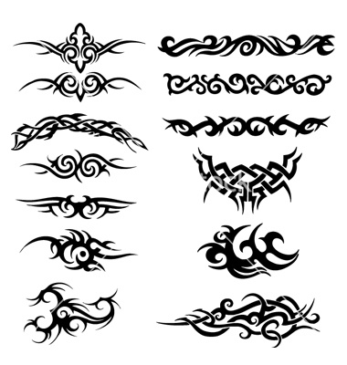 Tribal artworks vector on VectorStock®