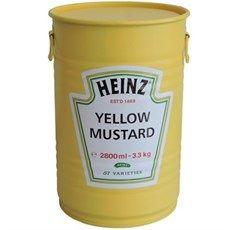 Tambor Heinz Yellow Mustard Com Alças