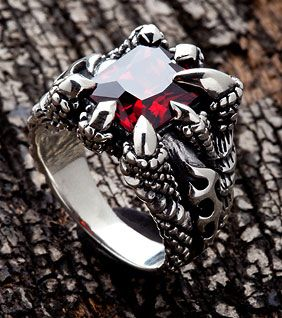 Jewelry that is infused with the were's blood. Bonding it to that family forever. Can only be removed by the wearer or death.
