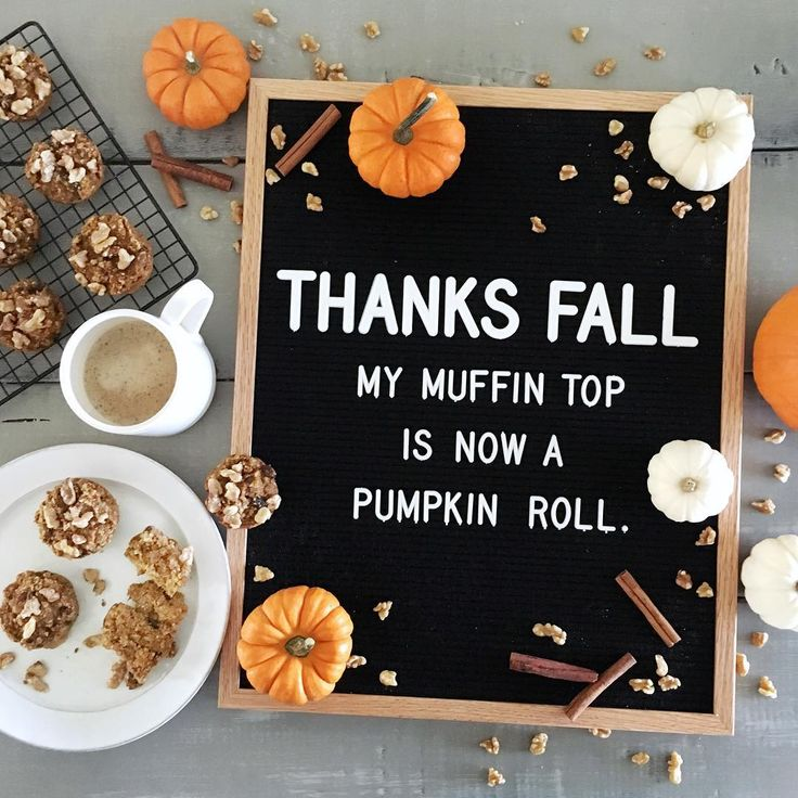Thanks fall. My muffin top is now a pumpkin roll. (