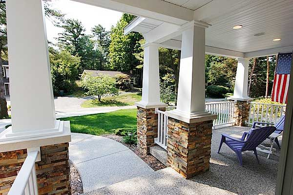 Stacked Stone Porch Columns : Best images about stacked stone on pinterest natural