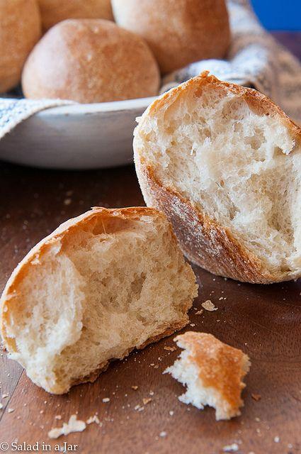 Really Crusty Rolls - Bread Machine Recipe